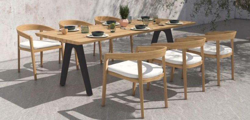 montara teak table